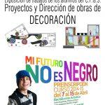 Exposición de trabajado del C.F.G.S. Proyectos y Dirección de obras de Decoración