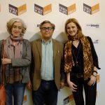 Photocall con Kahle & Arauzo ponencia sobre Arquitectura
