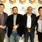 Photocall parte de los organizadores de las VI Jornadas de Diseño