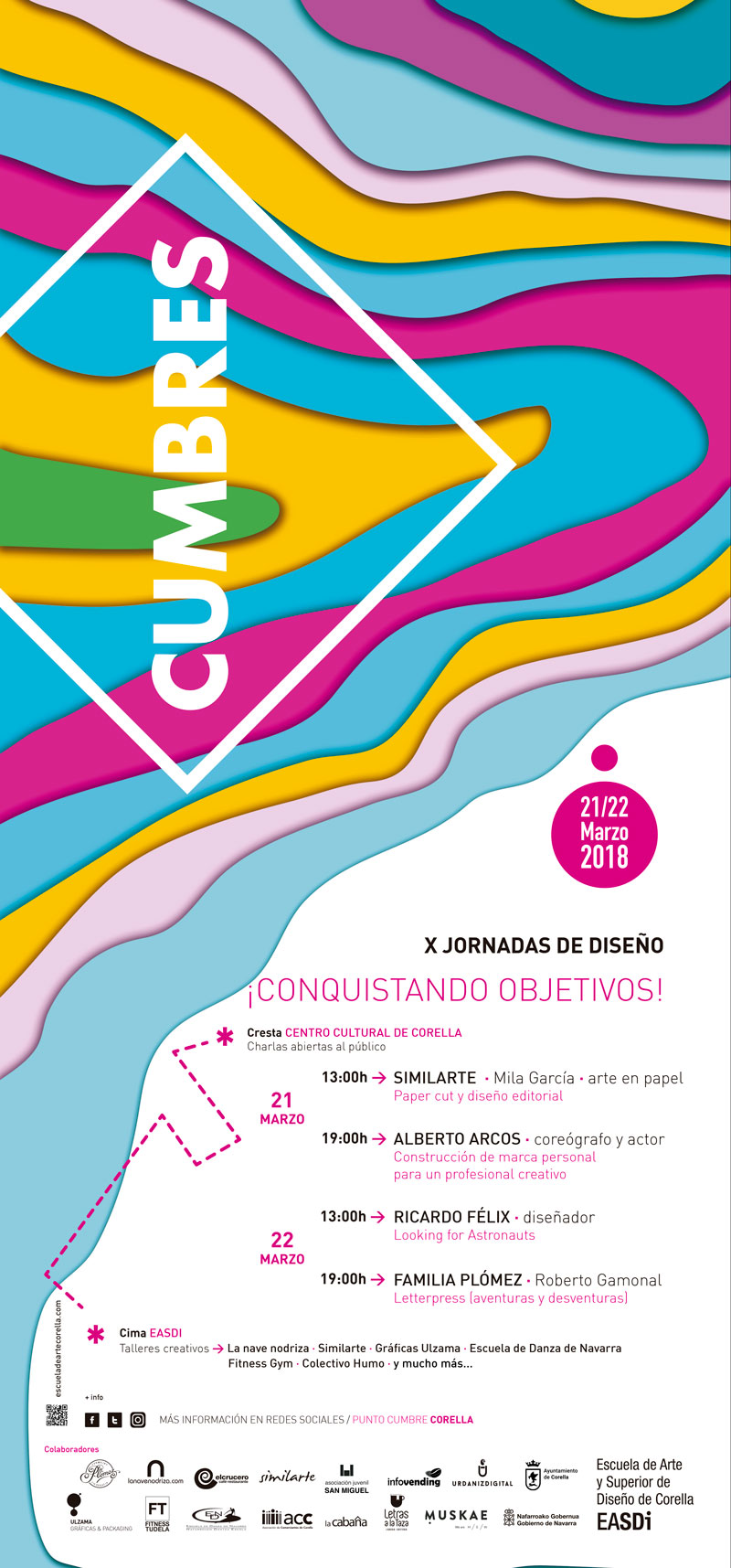 cartel del encuentro CUMBRES
