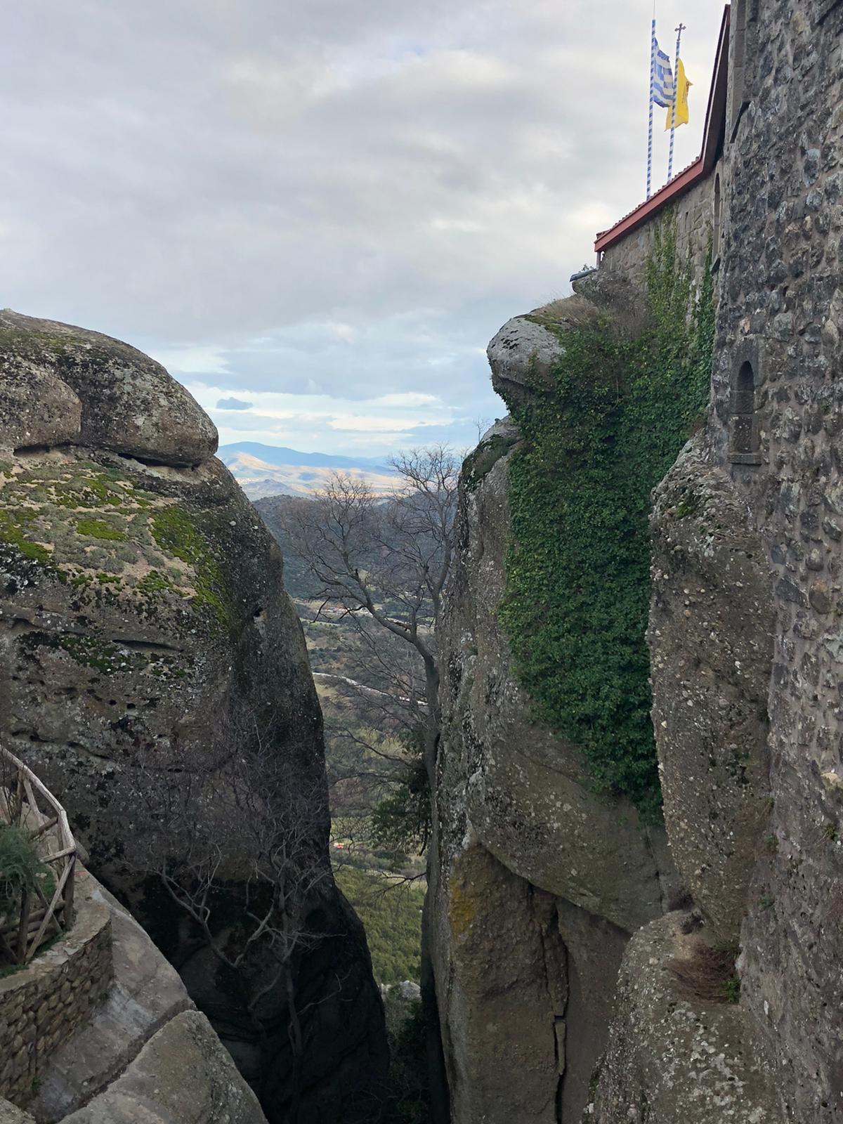 Diario de viaje: Erasmus + en Grecia. Subimos al cielo en Meteora