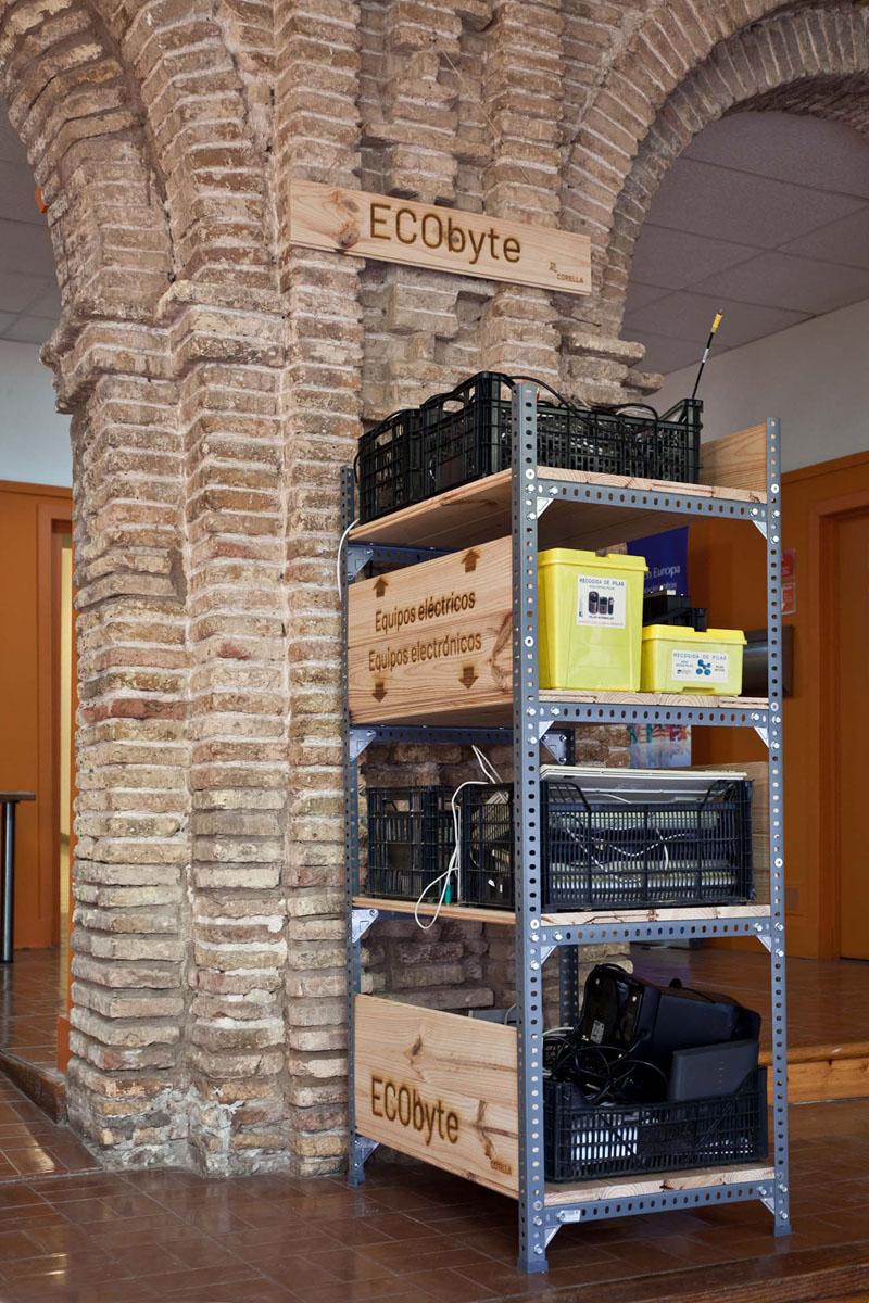 Buzón de Residuos electrónicos en Corella