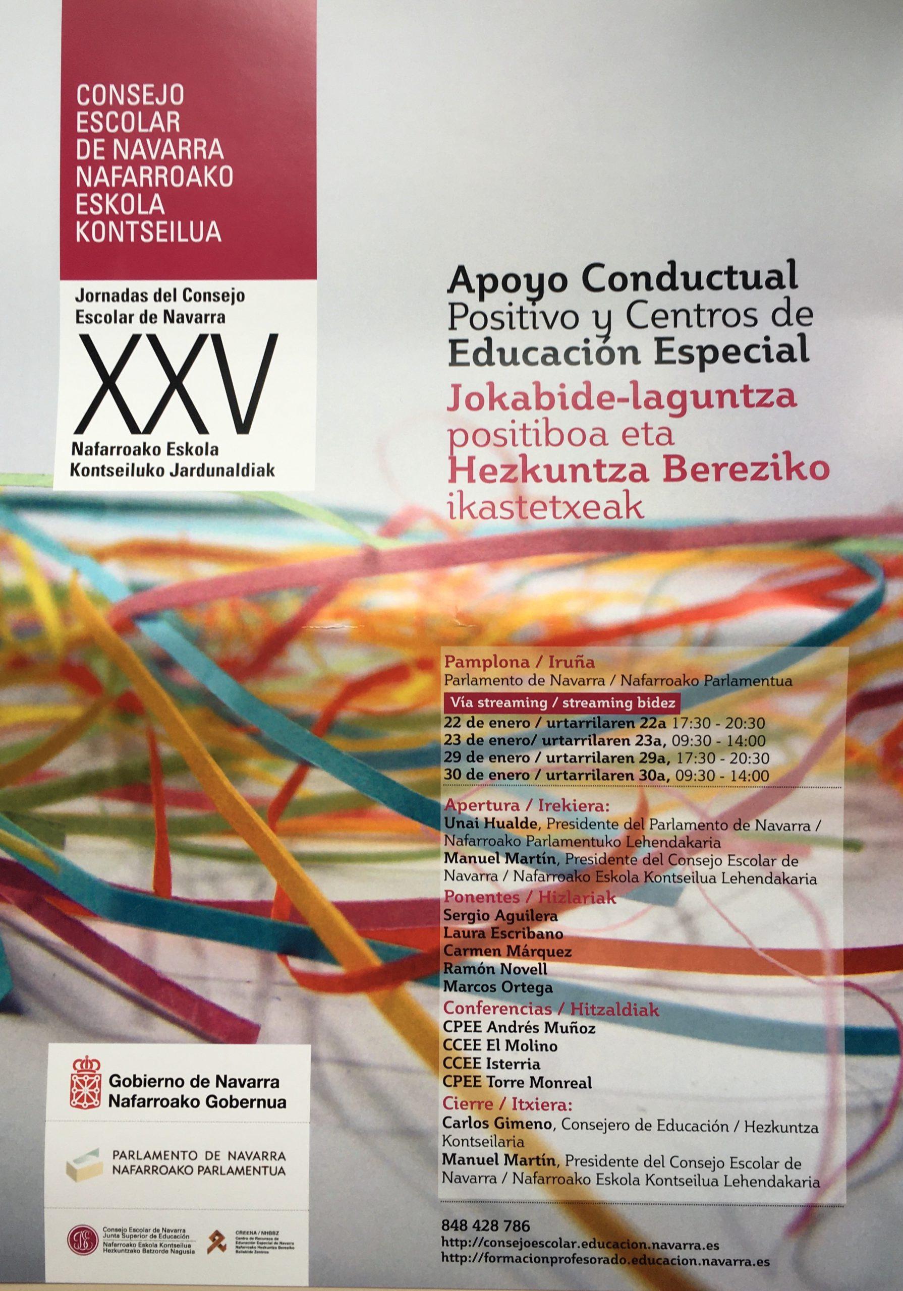 Consejo Escolar de Navarra - Diseño gráfico EASDi